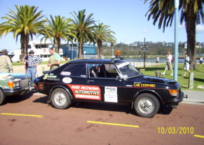 OTRA Tours 2010 - Crackers' SAAB