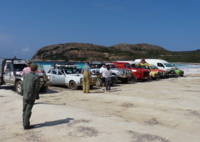 OTRA Tours 2015 Cars Beach