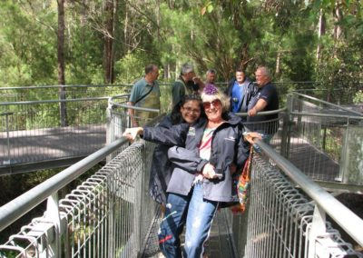 OTRA Tours 2015 Tree Top Walk - Vanisha and Anne